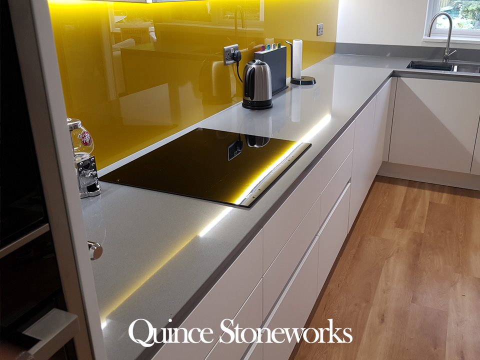 20mm Unistone Grey Savoye Quartz Worktop