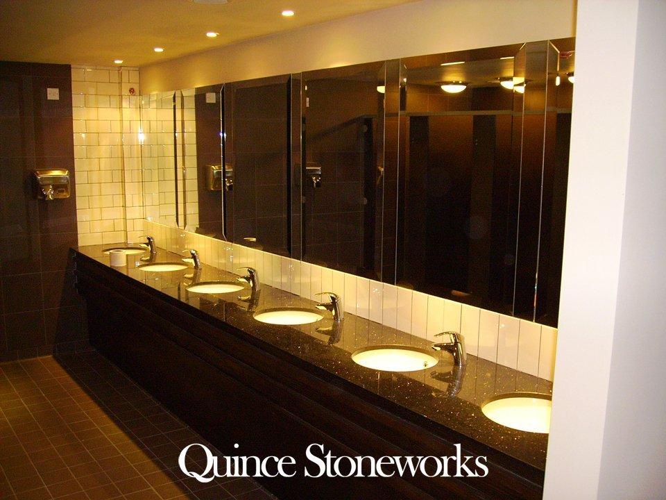 Granite sink units