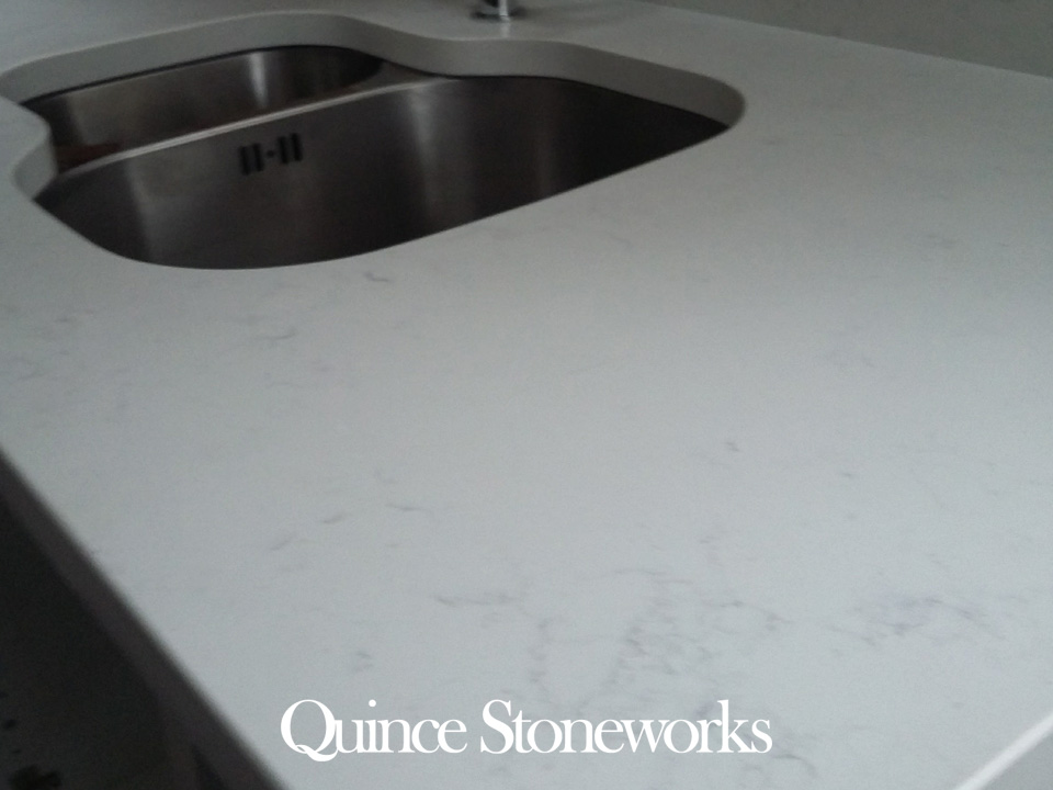 Mainsteam Bianco Carrara Quartz Worktop