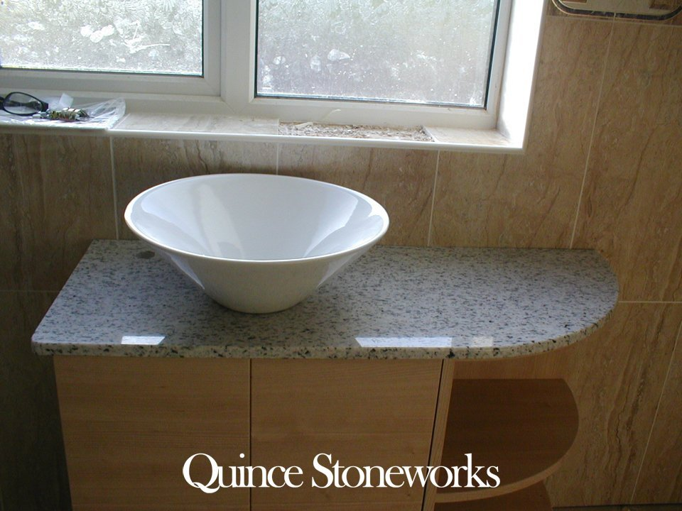 Quartz Pedestal and sink