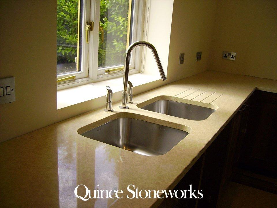 Quartz stone worktop chiltern ceasarstone