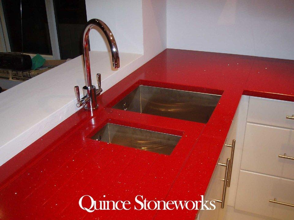 Red stelline recess drainer