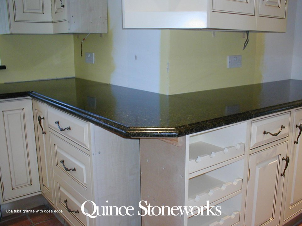 Ubat Tuba granite with ogee edge