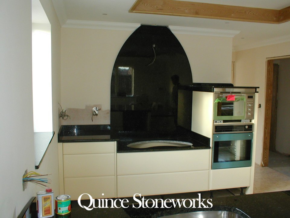 Ubat Tuba showing gothic shaped splashback