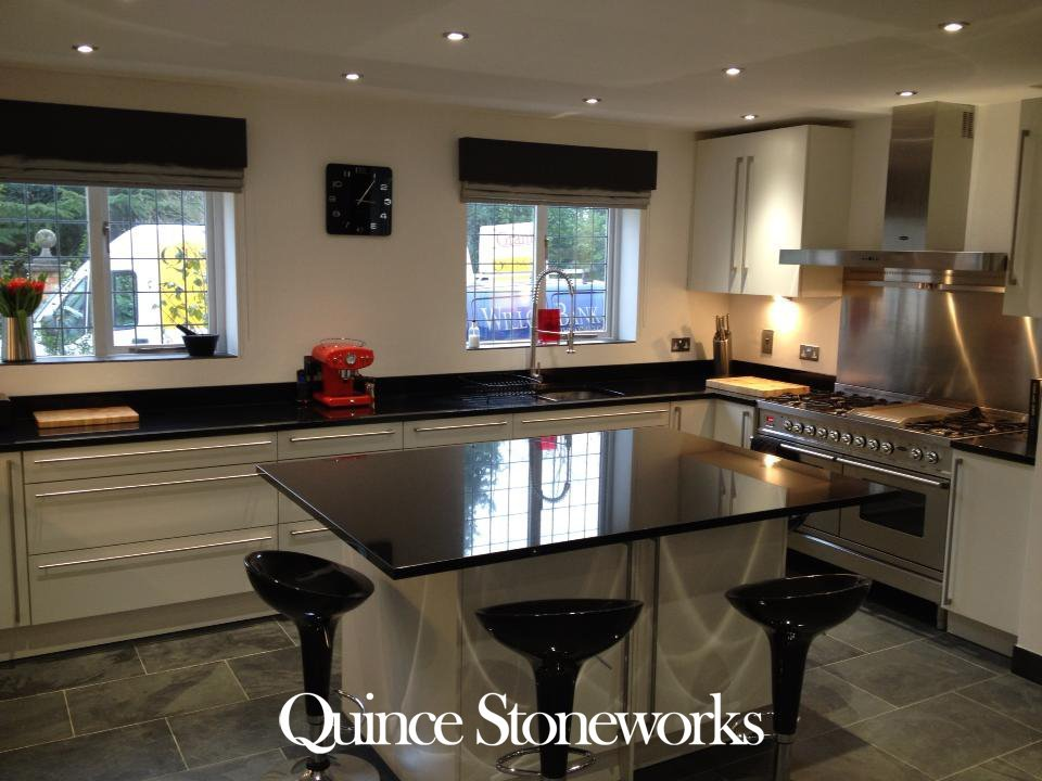 Zimbabwe Black granite worktop